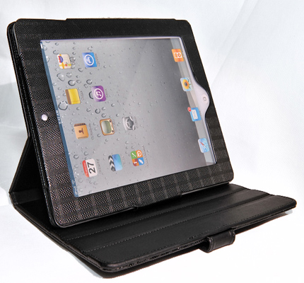 Dr. Nor's Premium Apple iPad2 PU Leather Protective Case