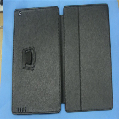 Leather Flip Stand Case iPad2