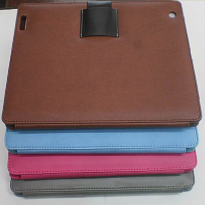 pu lether ipad2 bag with latch