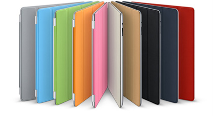 Vivid Colors Silicon Protective iPad 2 Case
